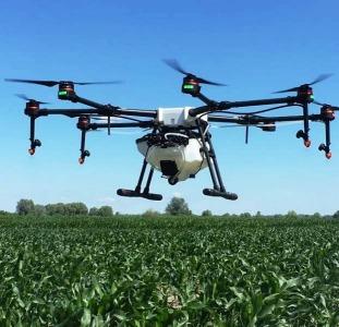 Дрони безпілотники квадрокоптери БПЛА для обприскування полів