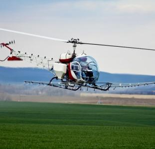 Внесение гербицидов самолетами малой авиации вертолетами и мотодельтапланами