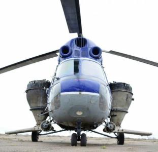 Розкидання селітри вертольотом