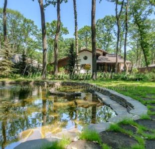 Без % продам дом-шале 316 метров, озеро, ландшафт, коттеджный поселок (Лесопарк)