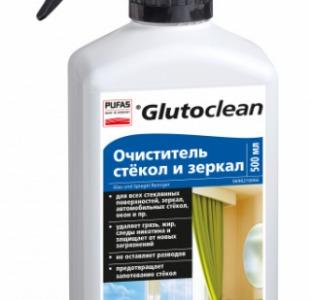 Очиститель для стекла и зеркал Glutoclean
