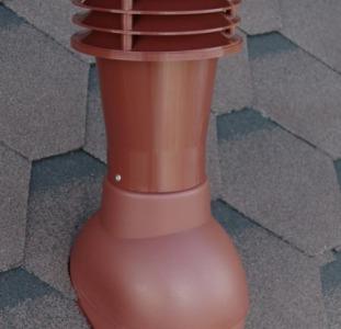 Вентиляционный выход для битумной черепицы - вентиляция