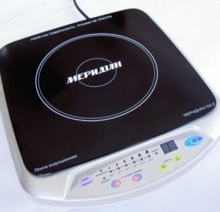 Индукционная электрическая плита «Меридиан ПИ-3»